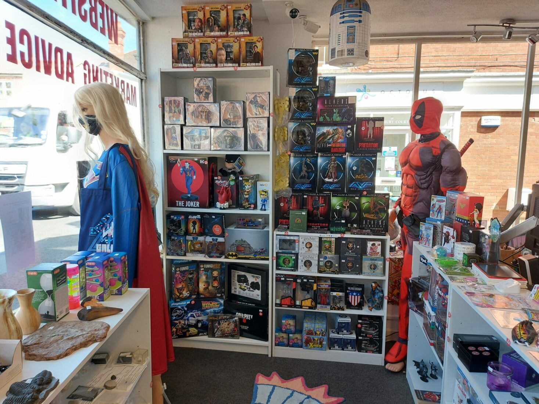 Inside view of Dorset Tech Shop