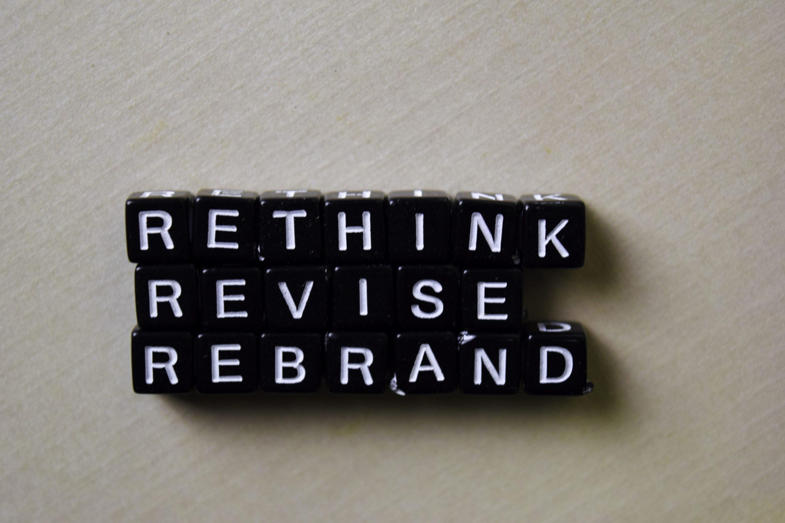The art of rebranding