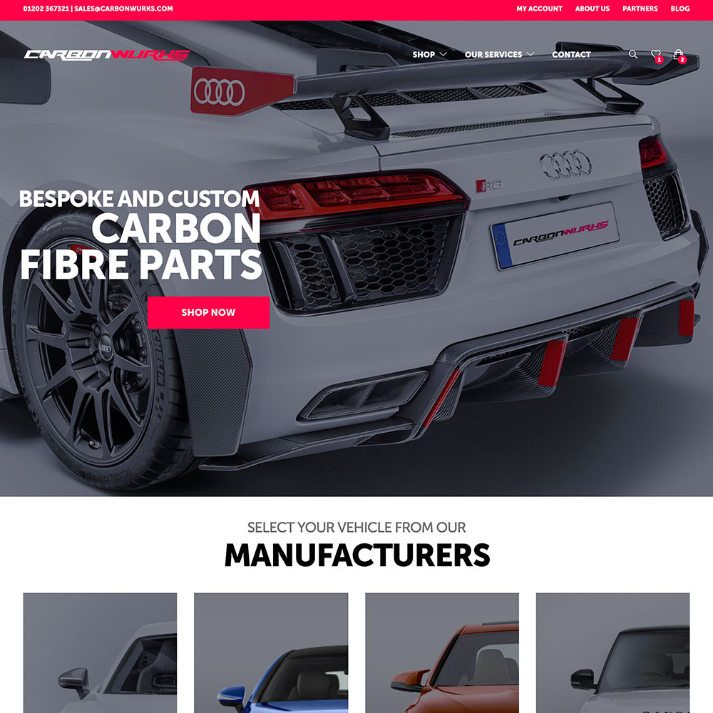 Poole Website Design Project